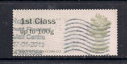 GB 2015 QE2 1st Class Up To 100 Gms Post & Go  ( D877 ) - Great Britain