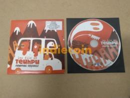 FILS DE TEUHPU Camping Sauvage 2009 FR CD LP Promo 15 Titres + Video Cardsleeve - Sin Clasificación