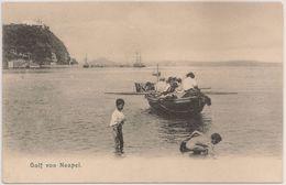 CPA Italia - Napoli - Napule - Naples - Golfo Di Napoli - Golf Von Neapel - Cartolina Postale - Postcard - Napoli (Naples)