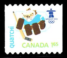 Canada (Scott No.2313i - Olympiques D'hiver / Vancouver 2010 / Winter Olympics - $1.65) (**) BK - NOTE - Hiver 2010: Vancouver