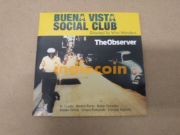 DVD BUENA VISTA SOCIAL CLUB Movie Wim Wenders 2006 UK DVD Promo Cardsleeve - DVD Musicali