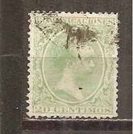 España/Spain-(usado) - Edifil  220 - Yvert 203 (o) - 1889-1931 Reino: Alfonso XIII