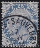 Belgie  .    OBP   .     40      .     O         .     Gebruikt    .  /   .    Oblitéré - 1883 Léopold II