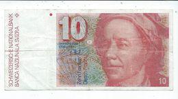 Billet De 10 Francs Ayant Circulé - Suisse