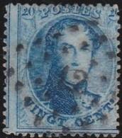 Belgie  .    OBP   .      15        .     O         .     Gebruikt    .  /   .    Oblitéré - 1863-1864 Médaillons (13/16)
