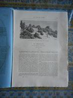 LE TOUR DU MONDE 1885 N° 1273 BELGIQUE SAUTOUR LA MOLIGNEE COUVIN HAUTE ROCHE MONTAIGLE FOSSES WALCOURT FLOREFFE - Livres, BD, Revues