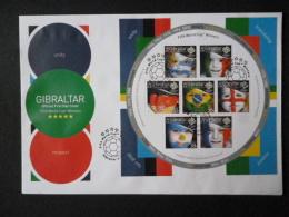 GIBRALTAR SG 1161-67 FDC - Gibraltar
