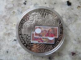 Piece De Monnaie Commémorative: En Mémoire D' Une Monnaie Marie A De Voltaire Billet De 10 Francs Français Tirage 2007 - Unclassified