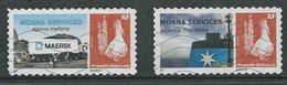 Nieuw-Caledonie, Maersk Line, Gestempeld, Zie Scan - Nouvelle-Calédonie