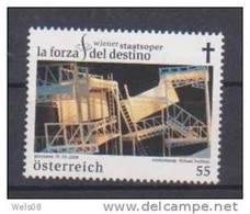 """Österreich 2008:  """"Wr.Staatsoper""""    Postfrisch - 1945-.... 2ème République"""
