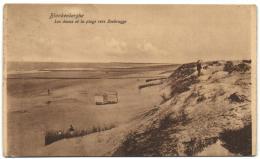 Blankenberghe - Les Dunes Et La Plage Vers Zeebrugge - Blankenberge