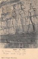 EGYPTE   EDFOU  BAS RELIEFS - Idfu