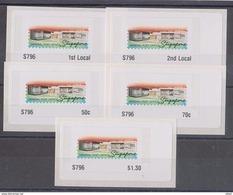 Singapore 2017 GPO Design Commemorative ATM  Frama Labels Mint - 5 Values - ATM - Frama (Verschlussmarken)