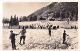 74 - Chamonix - Champs De Ski Du Savoy ( Sports  D Hiver ) ( Carte Glacée ) - Chamonix-Mont-Blanc