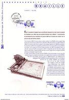 """"""" LOUIS BRAILLE """" Sur Document Philatélique Officiel De 2009 N° 21 09 504  N° YT 4324. Parfait état. DPO - 2000-2009"""