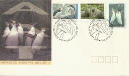 Australian Antarctic Territory 1993 Regional Wildlife II FDC - FDC