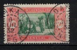 SENEGAL      N° YVERT  :    82  ( 16 )          OBLITERE       ( S D ) - Sénégal (1887-1944)
