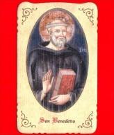 Santino - Immagini Sacre - Italia - San Benedetto - Sacro Speco - Subiaco - Santini