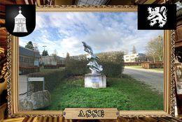 Postcard, REPRODUCTION, Comunities Of Belgium, Asse 1 - Cartes Géographiques
