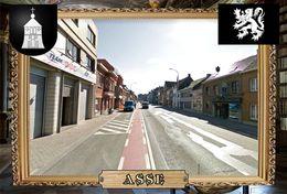 Postcard, REPRODUCTION, Comunities Of Belgium, Asse 2 - Cartes Géographiques