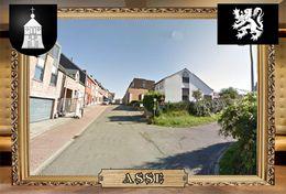 Postcard, REPRODUCTION, Comunities Of Belgium, Asse 6 - Cartes Géographiques