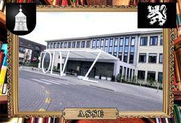 Postcard, REPRODUCTION, Comunities Of Belgium, Asse 8 - Cartes Géographiques