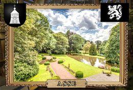 Postcard, REPRODUCTION, Comunities Of Belgium, Asse 13 - Cartes Géographiques