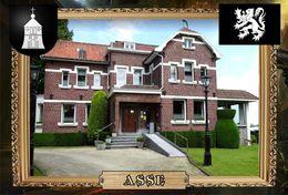 Postcard, REPRODUCTION, Comunities Of Belgium, Asse 14 - Cartes Géographiques