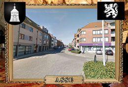 Postcard, REPRODUCTION, Comunities Of Belgium, Asse 15 - Cartes Géographiques