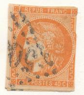 N°48 NUANCE ET OBLITERATION. - 1870 Bordeaux Printing