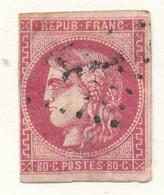 N°49 NUANCE ET OBLITERATION. - 1870 Bordeaux Printing