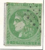N°42 NUANCE ET OBLITERATION. - 1870 Bordeaux Printing