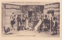 LA PASSION A BEAUCOURT                                Le Reniment De Saint Pierre - Beaucourt