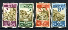 NL. INDIE 217/220 MH* 1935 - Christelijke Militaire Bond - Netherlands Indies