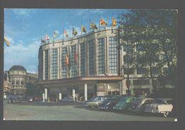 Brussel - Noord-Zuidverbinding: Centraal Station / Jonction Nord-Midi, La Halte Centrale - 1963 - Classic Cars - Chemins De Fer, Gares