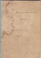 """Manuscrit Anonyme D'un Capitaine Intitulé: """"Etude Sur Le Combat De Nuit. Offensive"""". - Books, Magazines  & Catalogs"""