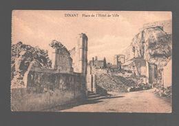 Dinant - Place De L'Hôtel De Ville - 1919 - WW II - 1914-18 - Dinant