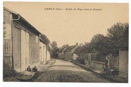 60 Caply - Entrée Du Pays Route De Breteuil - Otros Municipios