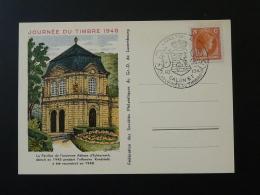 Carte Commémorative Journée Du Timbre Luxembourg 1948 - Luxemburgo