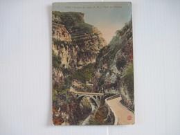 CPA  06 Gorges Du Loup (A. M.) Pont De L'Abime  T.B.E. - Non Classés