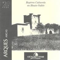 Lot De 6 Dépliants Et Plans: Site Du Pays Cathare Dans L'Aude, St-Hilaire, Lastours, Arques, Puilaurens... - Dépliants Touristiques