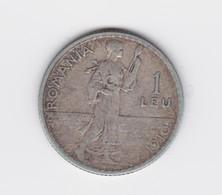 1 Leu  1910   Roumanie Argent TTB - Roumanie