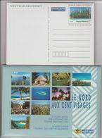 Nouvelle Calédonie Année 2001, Série De 10 Cartes Nord Aux Cent Visages Réf Yvert 35-CP à 44-CP - Prêt-à-poster