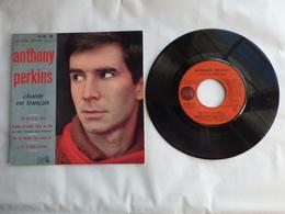 EP 45T ANTHONY PERKINS   LABEL  PATHE  EG 591  NE DIS PLUS RIEN - Disco, Pop