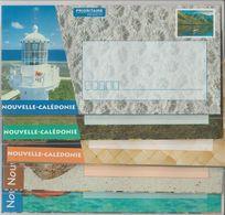 Nouvelle Calédonie Année 2001, Série De 9 Enveloppes Paysages Touristiques Réf Yvert 59-E à 67-E - Prêt-à-poster
