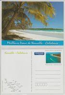 Nouvelle Calédonie Année 2001, Série De 2 Cartes Meilleurs Voeux Réf Yvert 68-CP Et 69-CP - Prêt-à-poster