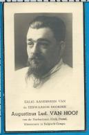 Bp     E. B. Van Hoof   Achterbos - Mol    1 Stuks - Images Religieuses