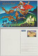 Nouvelle Calédonie Année 2001, Série De 2 Cartes Meilleurs Voeux Et Joyeux Noel Réf Yvert 70-CP Et 71-CP - Prêt-à-poster