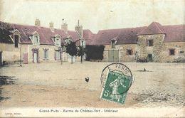 CPA Grands Puits Ferme De Château-fort - Intérieur - Autres Communes