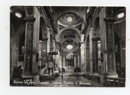 CPA Glacée Riviera Dei Fiori Imperia Interno Basilica S. Giovanni - Imperia